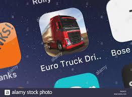100 Truck Driver Simulator London United Kingdom October 19 2018 The Euro