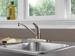 Moen Chateau Kitchen Faucet 7425 by Peerless P110lf Ss Classic Single Handle Kitchen Faucet Stainless
