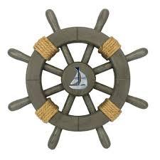 ships wheel wall décor reviews birch lane