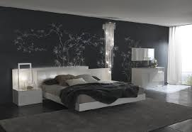 The Wallpaper Its Important In This BW Bedroom Grey 50 Shades Of Inspired Home