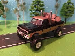 100 Custom Toy Trucks 1969 FORD F100 Ranger Truck 164 G5 Lift Kit FORD