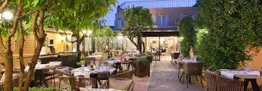 restaurant le patio hotel la perouse riviera 4 boutique hotel le