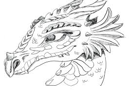 Dragon Coloring Sheets Free Pages For Adults Pdf Pictures Full Size