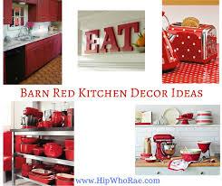 Barn Red Kitchen Decor Ideas