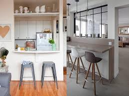 cuisine semi ouverte cuisine semi ouverte sur salon photos idée de modèle de cuisine