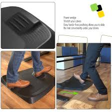 Standing Desk Floor Mat Amazon by Amazon Com Ergogo Standing Desk Mat Comfort Mat Not Flat Anti