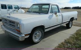 1989 Dodge D100 Pickup Truck | Item G7658 | SOLD! Tuesday Ja... Lovely Dodge Dakota Trucks For Sale Easyposters A Brief History Of Ram The 1980s Miami Lakes Blog Dw Truck Classics On Autotrader 1989 D350 Dont Expect Anything Exciting Here Builds And Power Mopar 59 Magnum Youtube Two Cummins Powered Built Baja Engine Swap Depot Tiny Texas 50 Rams Vintage Trucks Pickup Information Photos Momentcar To 1993 Recipes Diesel File1989 34332789761jpg Wikimedia Commons Dodge W150 4x4 Plow Resource Forums W250 Service Low Miles One