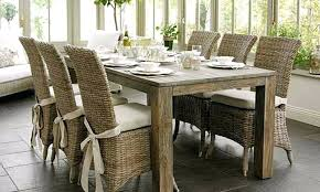 Dining Room Cushions Chair With Ties Stylish Pads New White Throughout Bench Table