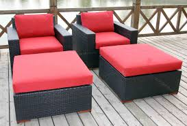 Patio Furniture With Hidden Ottoman by Ottomans