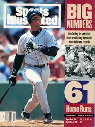 1990 Upper Deck Ken Griffey Jr by Ken Griffey Jr Sports Illustrated June 1994 The Cover Boys