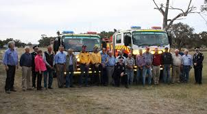 100 New Fire Trucks East Parkes Rural Brigade Honours Veteran Volunteers And