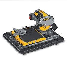 dewalt d24000 wet saw tile cutter in stock for uk next day