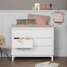 Baby Changer Dresser Top by 6 Drawer Birch Dresser With Large Baby Changing Top White Oliver