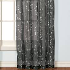Crushed Voile Curtains Christmas Tree Shop by Savannah Semi Sheer Window Treatment