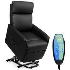 Electric Power Lift Massage Sofa Recliner Vibrating Chair W/Remote Control  Black - Walmart.com