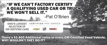 100 Used Trucks In Ohio South Pat OBrien Chevrolet In Medina Serving Brunswick Customers