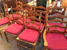 Tall Ladder Back Chairs With Rush Seats by Rush Chair Seat Cushions Rush Seats With Upholstered Seat