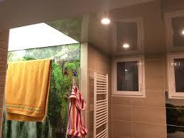 zwischendecke im badezimmer badezimmerdecke mit spanndecken