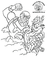Dragon Tales Coloring Pages Online Printable Jack Beanstalk Fairy Tale Free Pictures Full Size