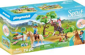 playmobil herausforderung am fluss spirit free 70330