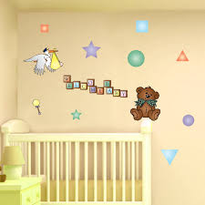 Image of baby room wall decor letters