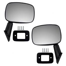 100 Truck Mirror Replacement Driver And Passenger Manual Side View For Toyota