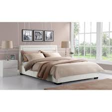 Beds For Less Manhattan Ks by Dhp Bombay White Full Bed Frame 3246198 The Home Depot