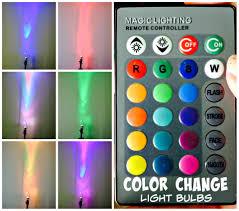 color change light bulbs