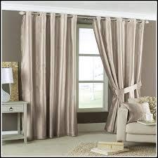 108 curtains semiopaque fez grey and tan grommet blackout curtain