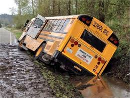 School Bus Driver Fired After Crashing Into Ditch - Safety - School ...