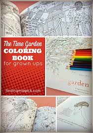 The Time Garden Coloring Book By Daria Song