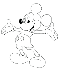 Mickey Mouse Clubhouse Coloring Pages Free Disney Princess Games Tangled Online Printable Full Size