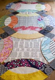 Image result for double wedding ring quilts