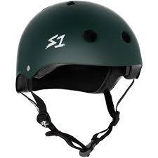 one helmet lifer l dark green matte aus nz certified