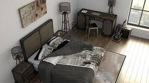 chambre industriel atmosphère décoration chambre style industriel decoration guide