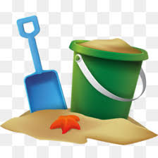 Beach Bucket Sand Clip Art