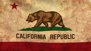 California Flag 2 Pack Grunge And Retro By Aslik
