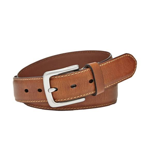 Fossil Men's Brown 'Aiden' Leather Belt