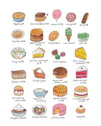 Rows of delicious foods