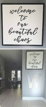 Perfect Entryway Sign For Anyone With Young And Wild Kids Welcome To Our Beautiful Chaos