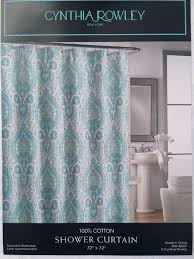 Cynthia Rowley New York Window Curtains by New Tahari Shower Curtain Paris In Color Orange Green Taupe White
