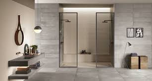 fliesen trend betonoptik im badezimmer