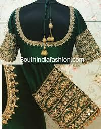 Bridal Saree Blouses Vanitha Prasad Chennai
