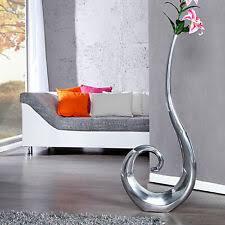 dekoration vase gros metallvase flach dekovase aluminium