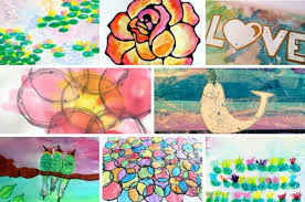 Bright And Colorful These Watercolor Painting Ideas Will Inspire You Your Kids To Create Have Fun