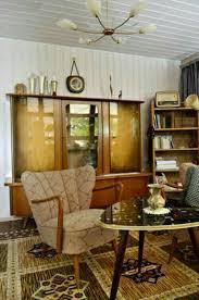 so sahen die 50er aus 50er jahre möbel retro wohnzimmer