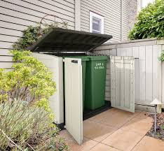 Keter Woodland High Storage Shed by Keter Store It Out Max Outdoor Plastic Garden Storage Shed 145 5