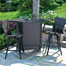 Outdoor Bar Furniture The Home Depot Within Patio Decor 1