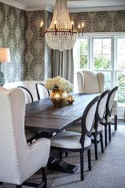 Dining Room Furniture For Black Salvaged Wood Table