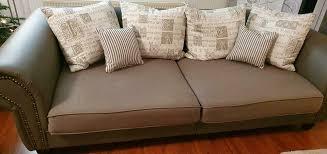 big sofa sofa kolonialstil vintage style grau hell